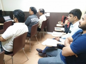 Training at Rajendra Place Branch