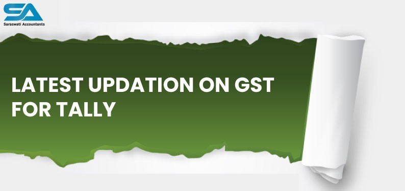 Latest Updation on GST for Tally